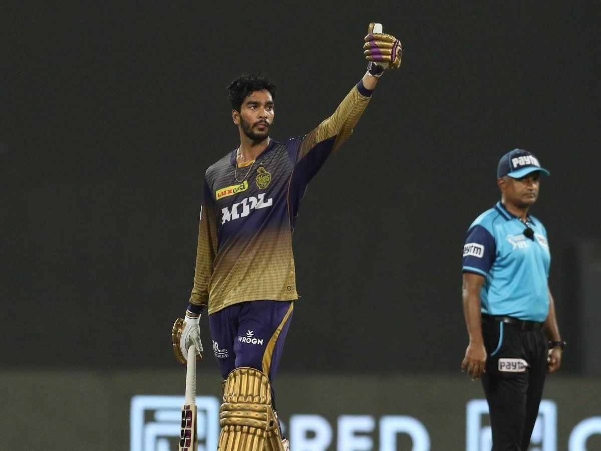 Venkatesh Iyer against Delhi Capitals in IPL 2021