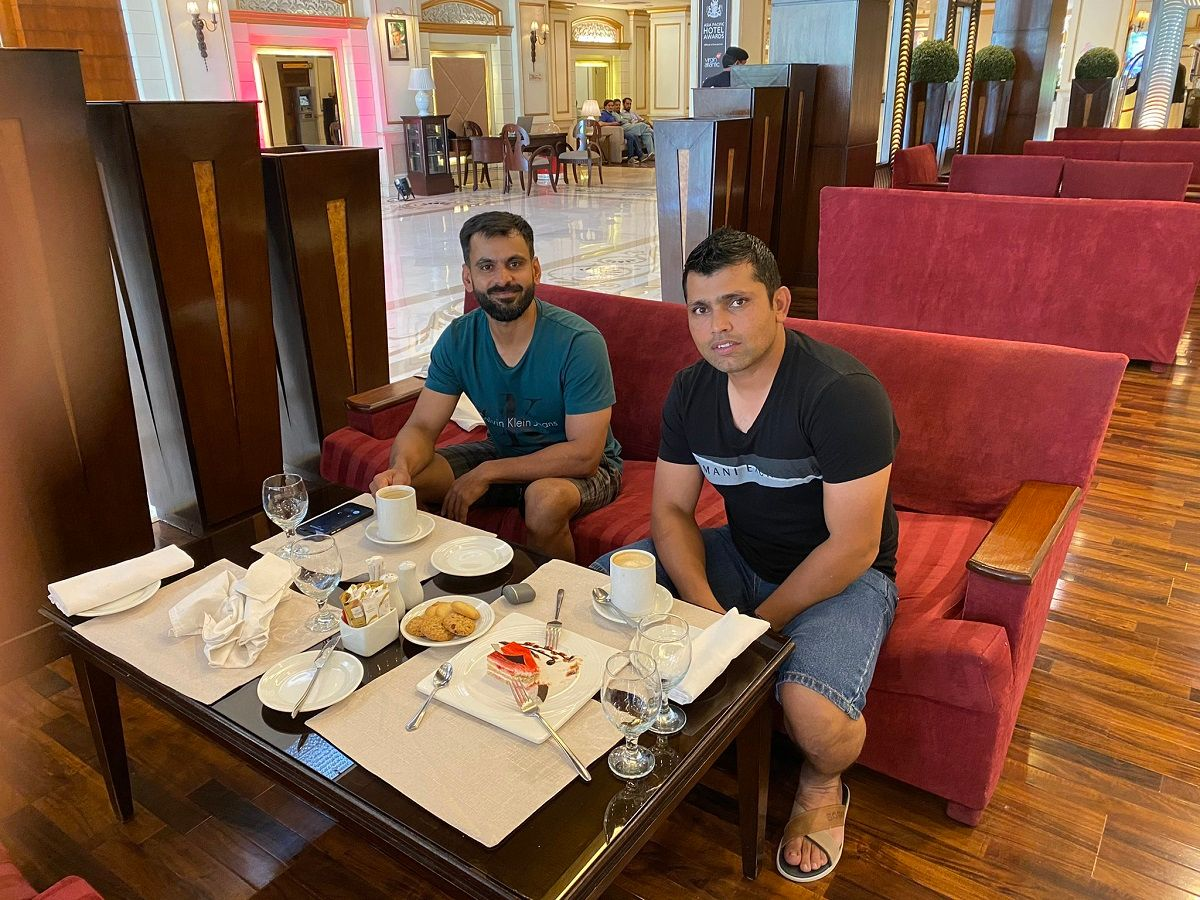 Akmal and Hafeez