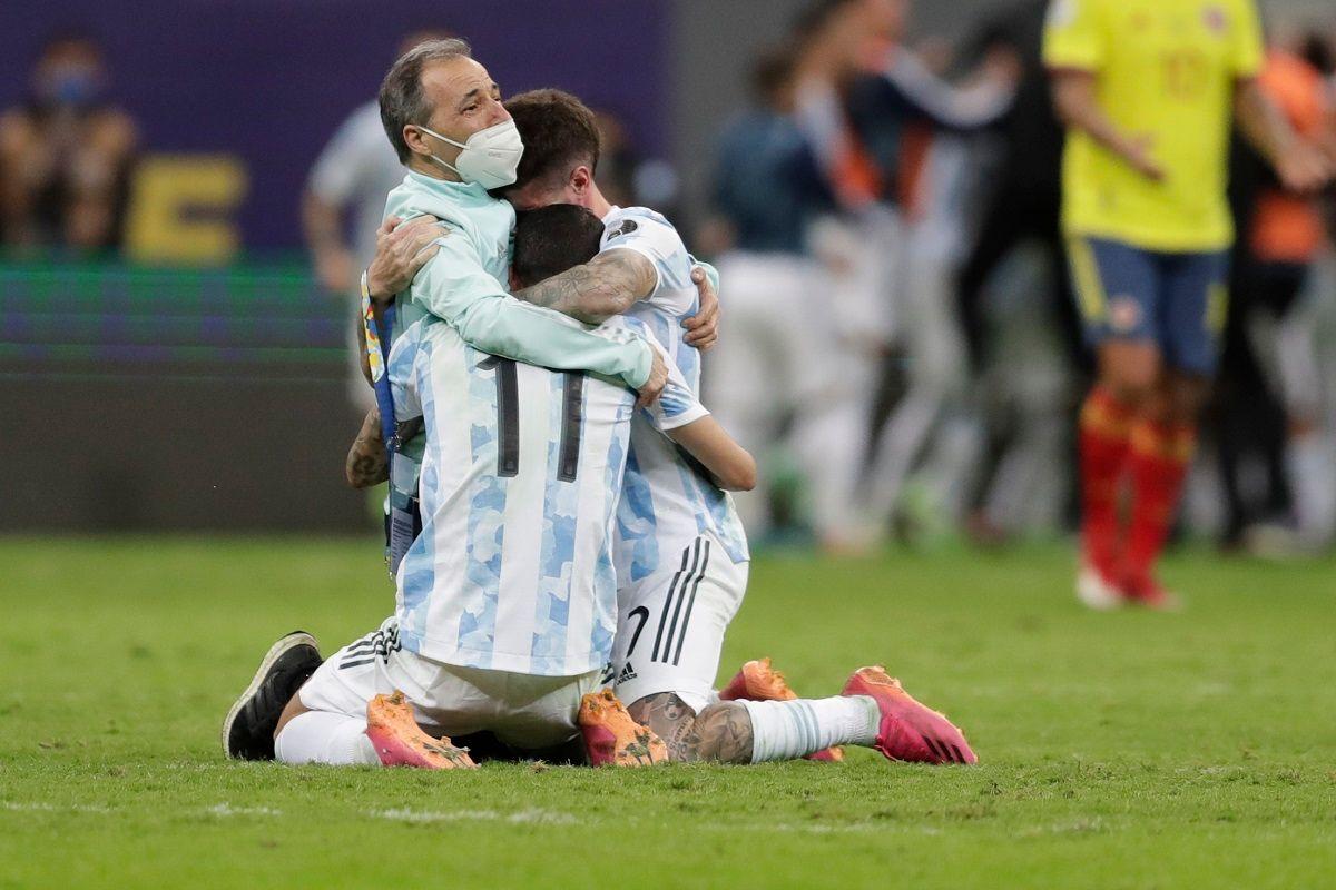 Argentina beat Brazil in Copa America Final