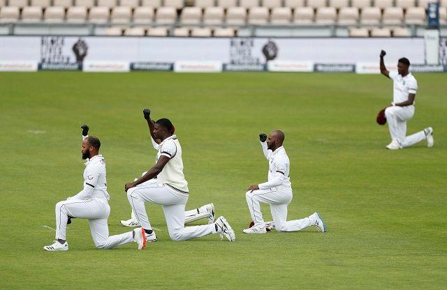 Black lives matter West Indies cricket team