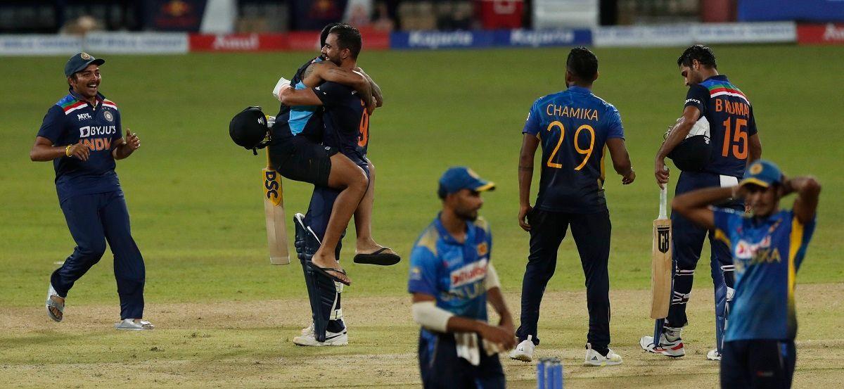Deepak Chahar India win