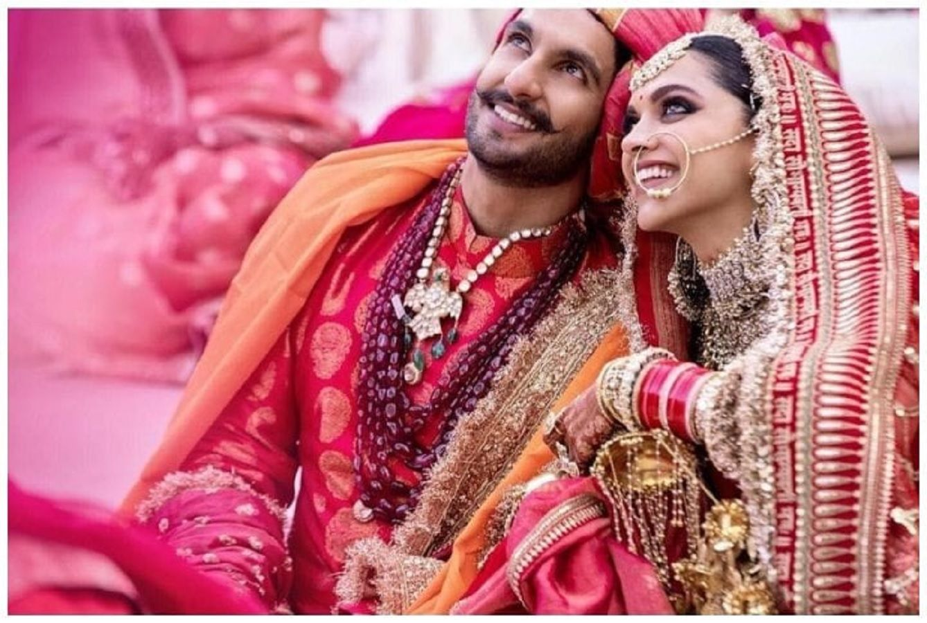 Ranveer wedding look