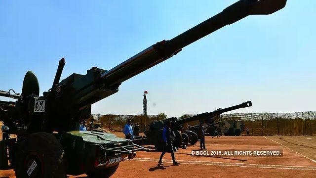 dhanush artillery