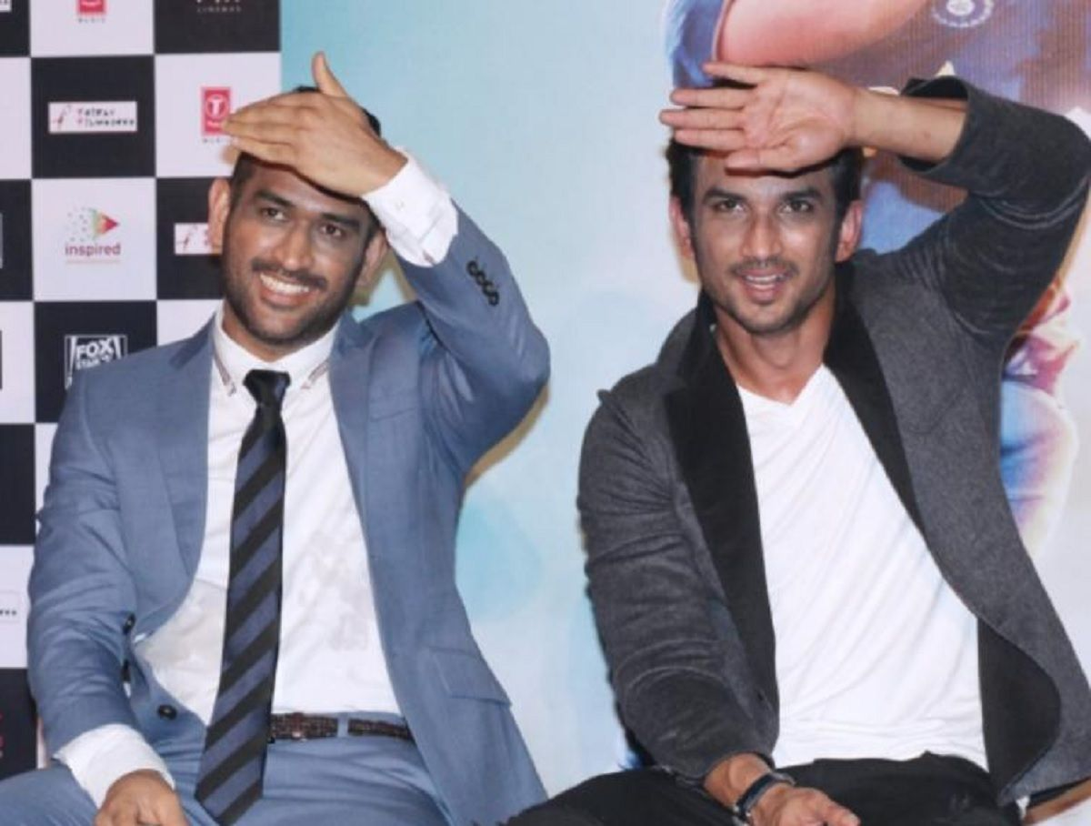 MS Dhoni and Sushant