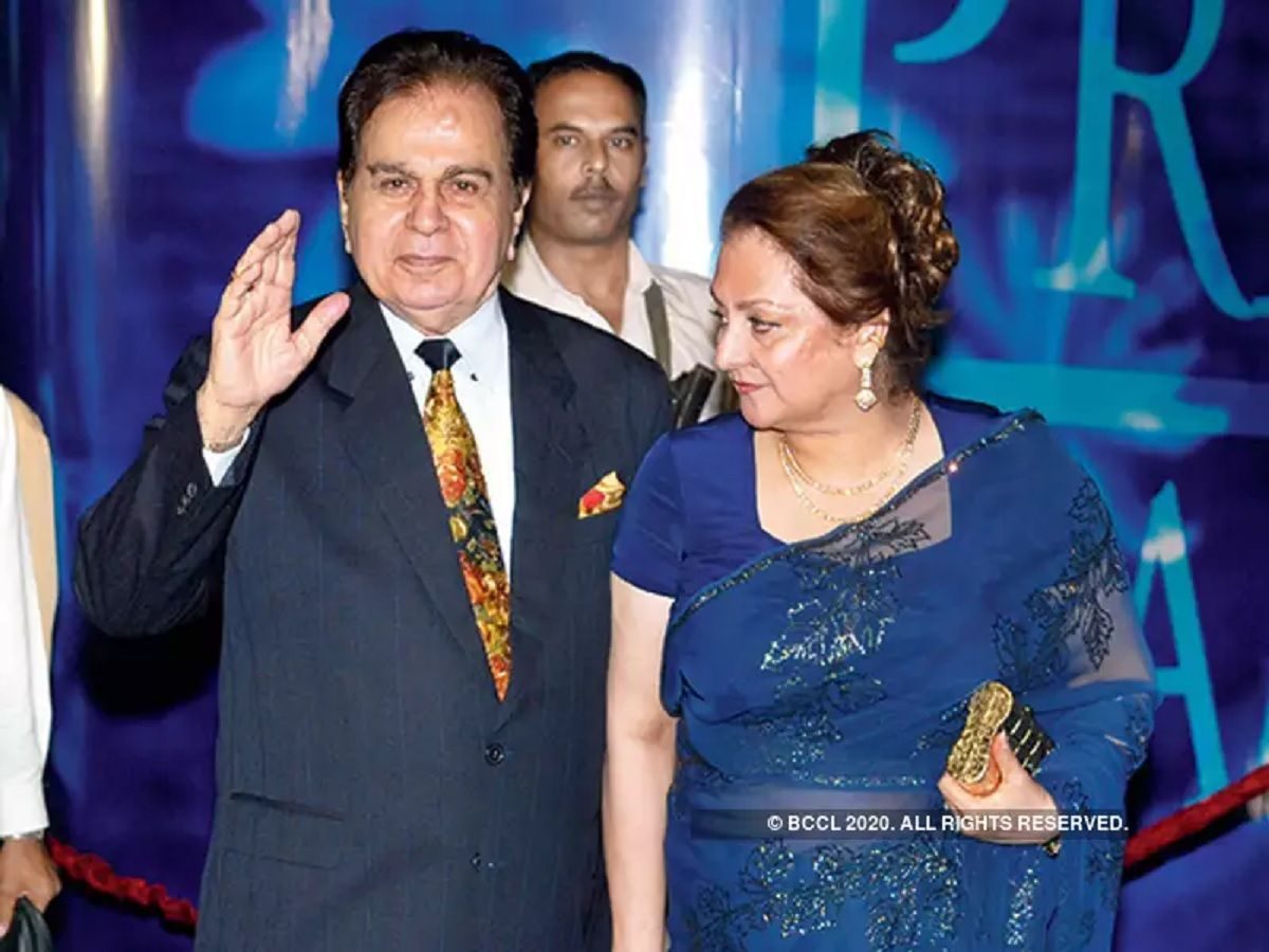 dilip kumar and saira banu love story