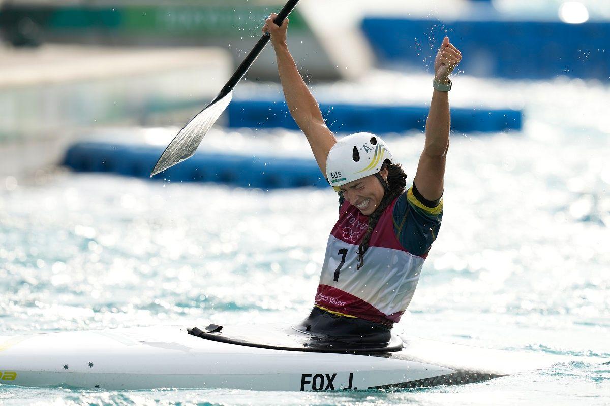 Jessica Fox Kayaking