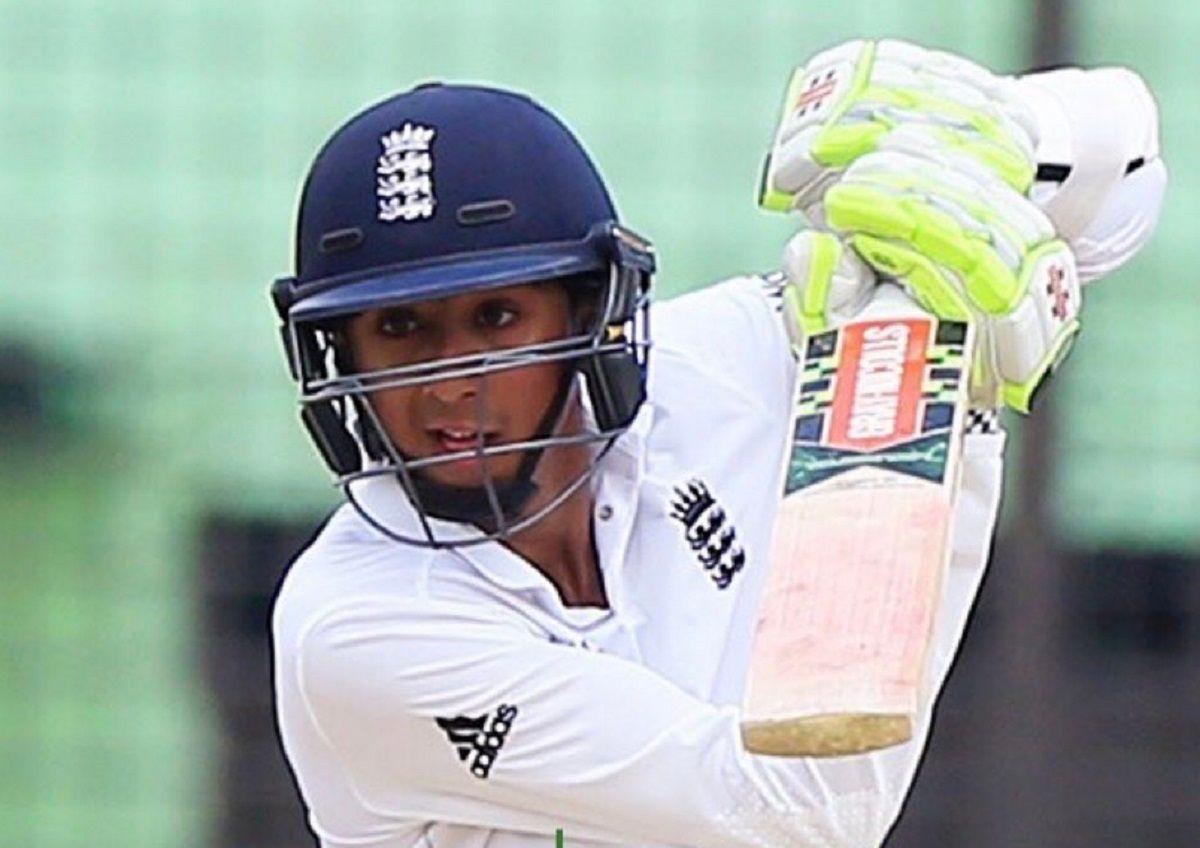 Haseeb Hameed against India