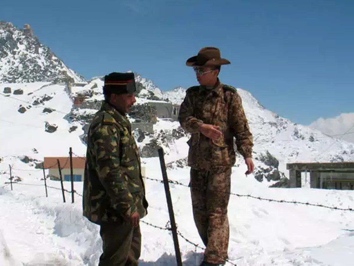India China face off