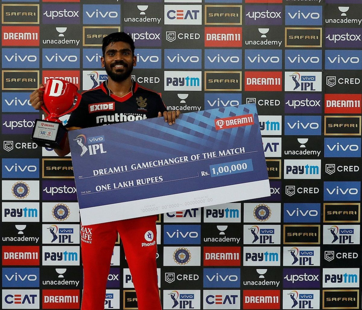 Srikar Bharat man of the match