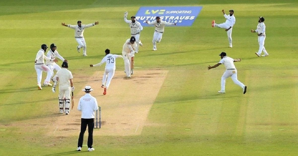 india win lords test