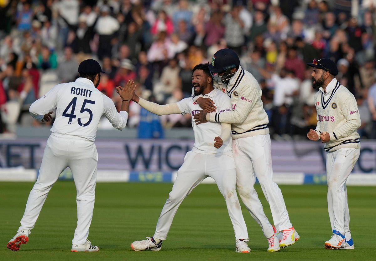 India vs England at Lords