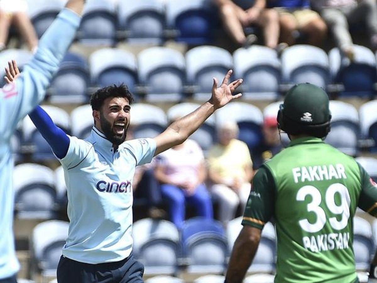 Saqib Mahmood against Pakistan