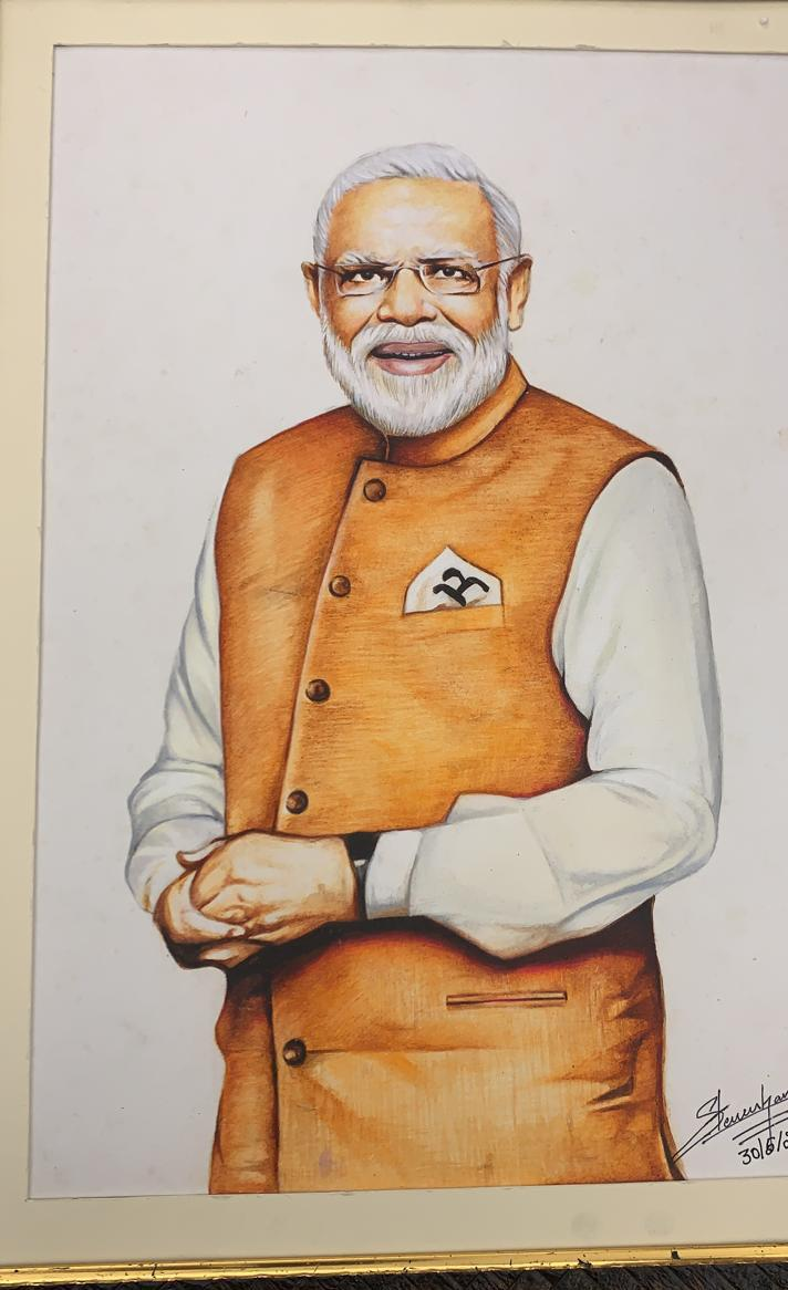 Narendra Modi Painting