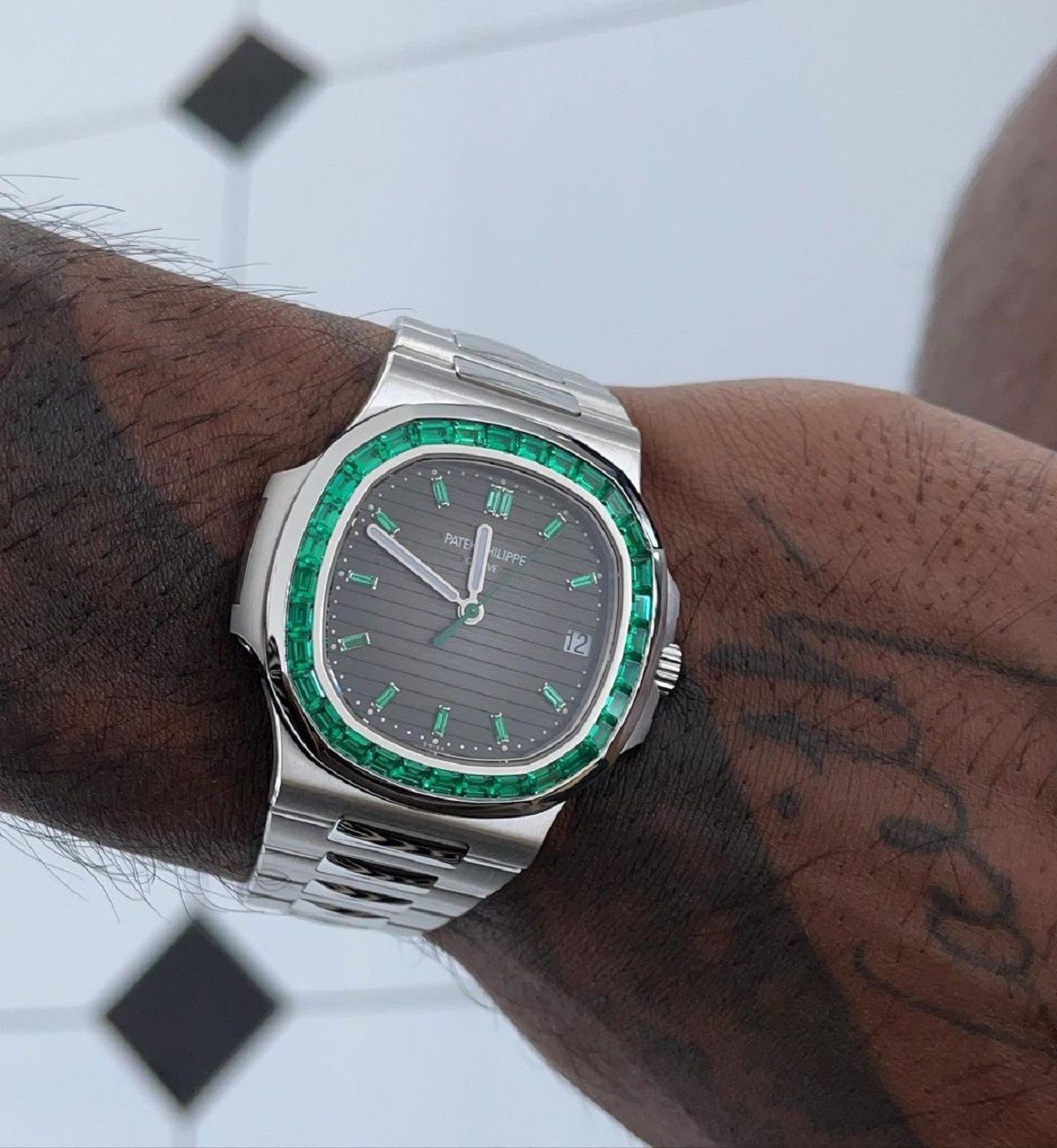Hardik Pandya wrist watch