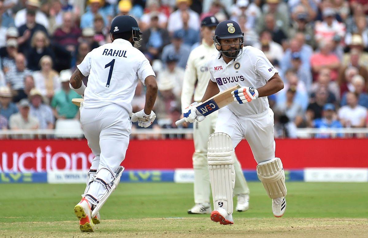 Lokesh Rahul and Rohit Sharma