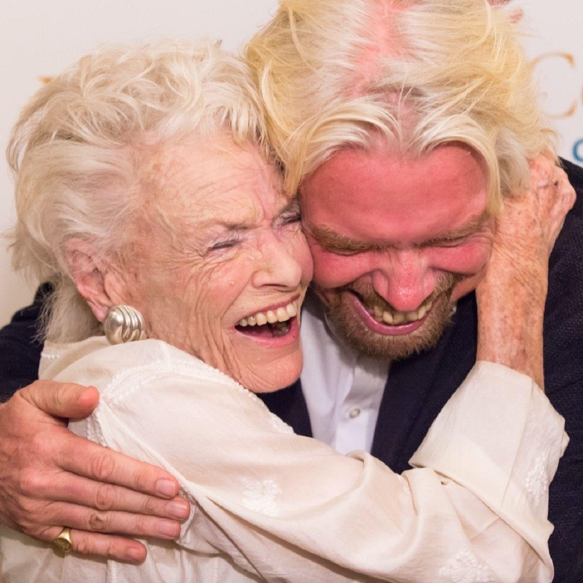 Richard Branson's mother