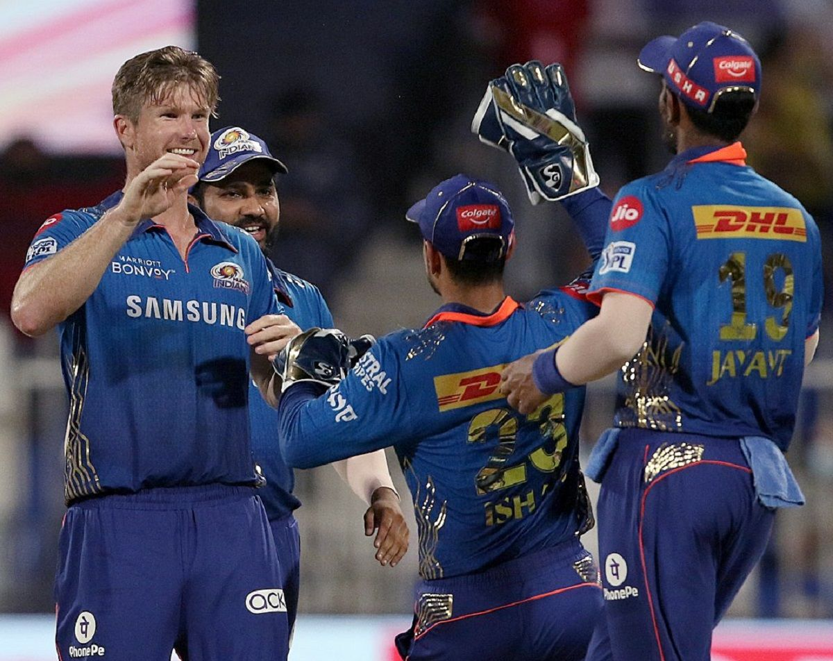 RR vs MI IPL 2021