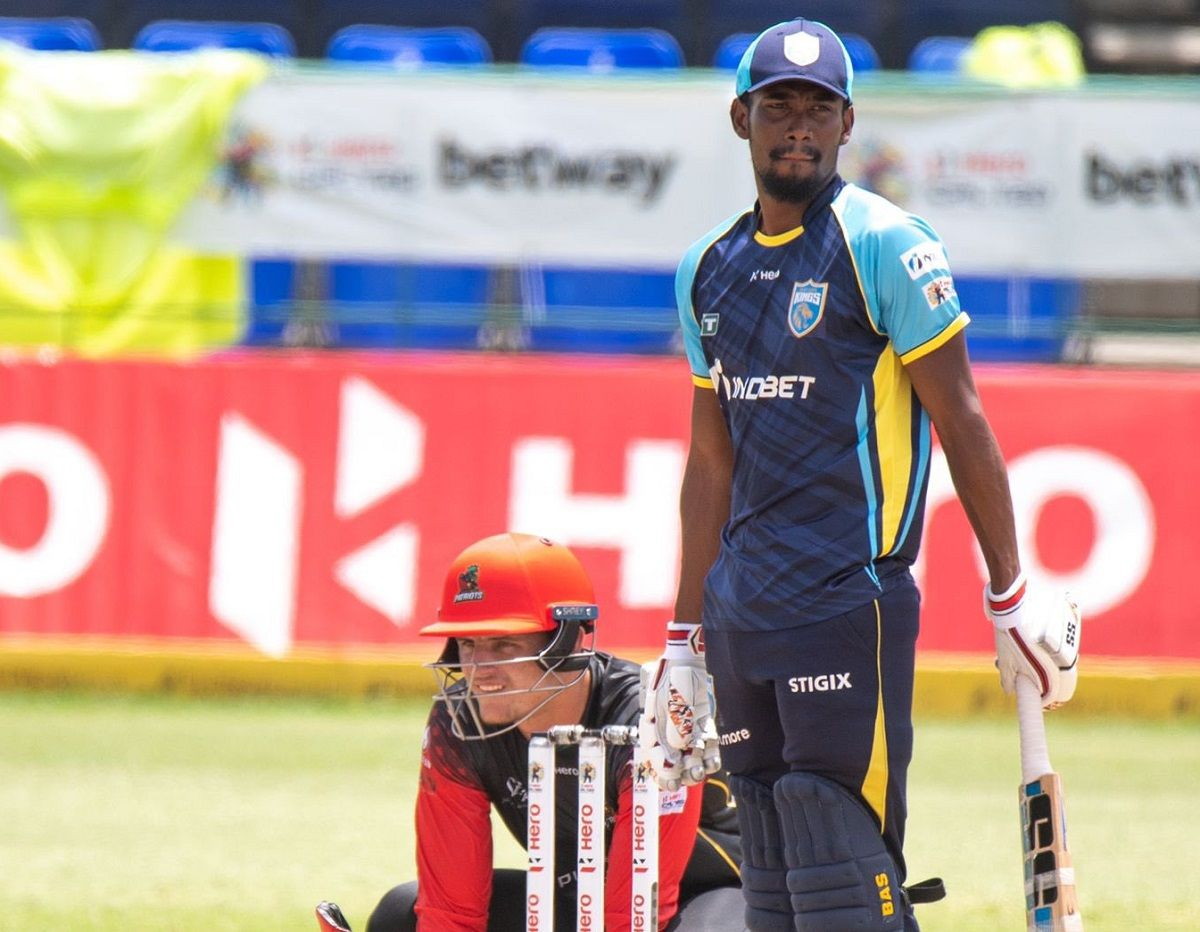 St Lucia Kings vs St Kitts and Nevis Patriots