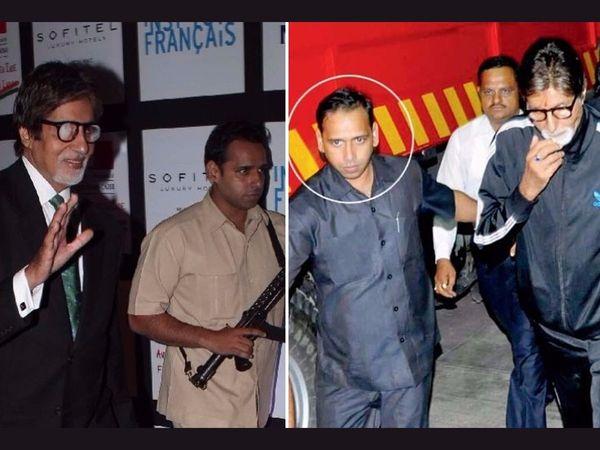 Amitabh Bachchan Bodyguard jitendra shinde