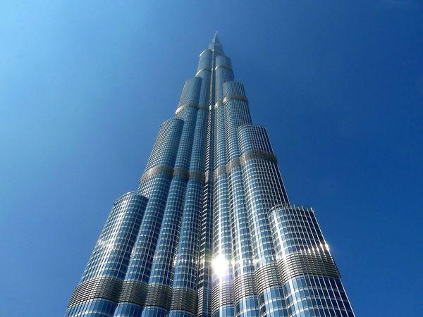 Tallest building in the world Burj Khalifa