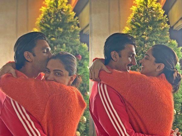 Deepika Padukone & Ranveer Singh Christmas Photos