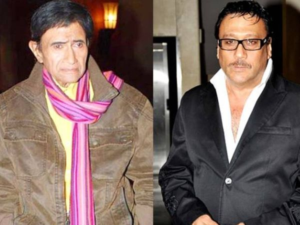 Dev anand and Jackie Shroff