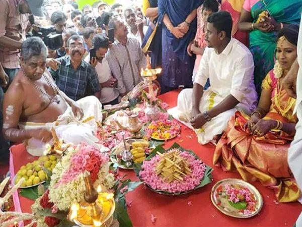 Hindu marriage in mosque