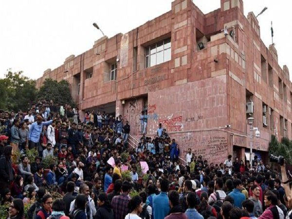 JNU Fees row