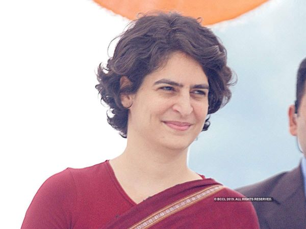 Security breach at Priyanka Gandhi home unknown persons entered her residence asked for selfie