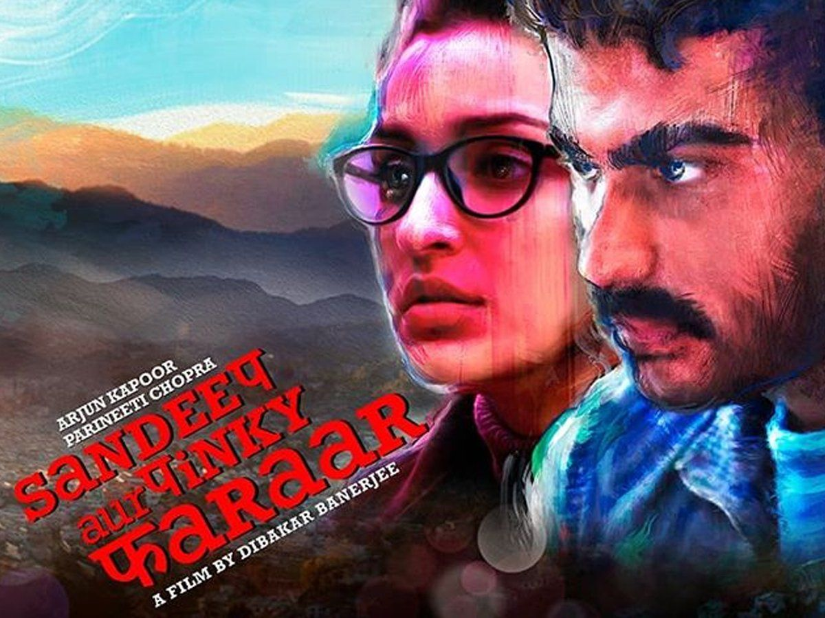 Image result for 'संदीप और पिंकी फरार' poster
