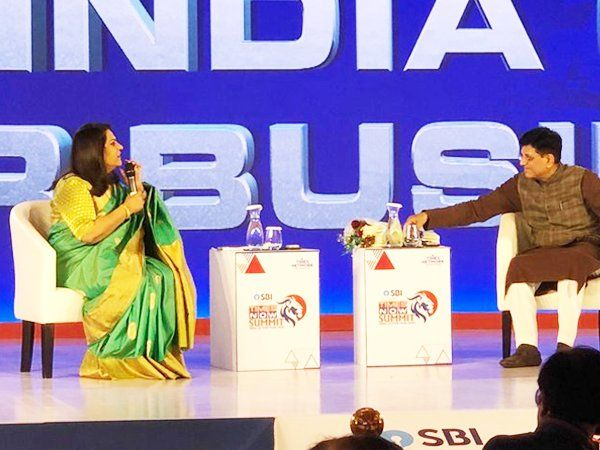 Union Minister for Commerce & Industry Railways tells on various issue like e commerce employment agriculture etc at TIMES NOW SUMMIT 2020