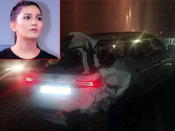 Sapna Chaudhary Safe In Car accident happen Gurugram Haryanavi dancer revealed inside Story