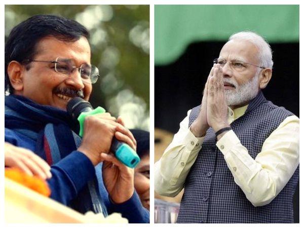 Arvind Kejriwal-Narendra Modi