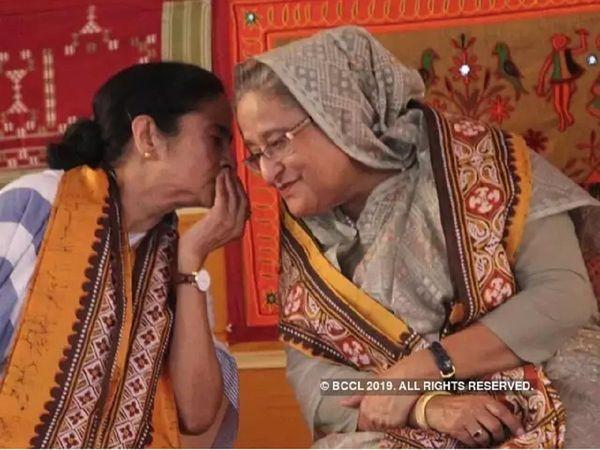 India Bangladesh Pink ball test: कोलकाता पहुंचीं बांग्लादेश की PM शेख हसीना, ममता बनर्जी से NRC पर होगी बात?
