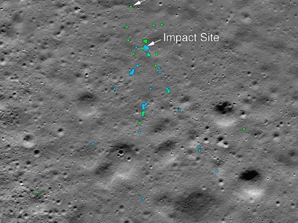NASA found Lander Vikram of Chandrayaan 2 on moon surface tweeted pictures