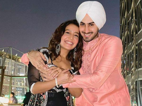 Neha Kakkar back india With Rohanpreet Singh And Start Work For Indian Idol 12