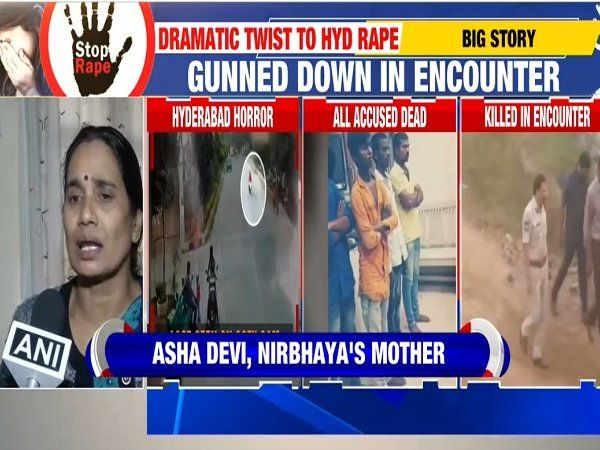nirbhaya mother on hyderabad encounter