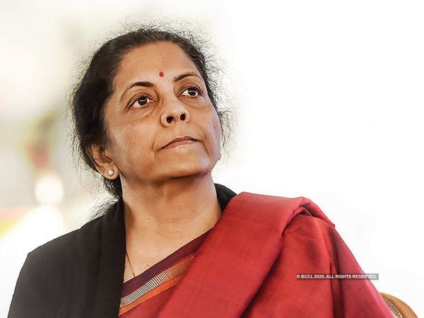 Nirmala Sitharaman,Finance Minister