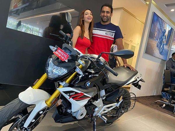 Kasautii Zindagii Kay 2 Actress Pooja Banerjee buy BMW bike
