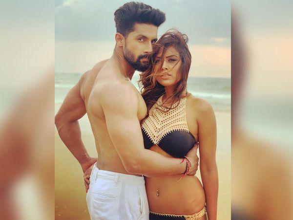 Nia Sharma Ravi Dubey Hot Photoshoot On Beach for jamai 2.0 second season
