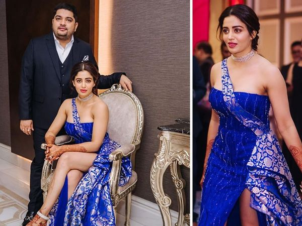 Neha Pendse Goes for honeymoon in april And looks Stunning in wedding reception