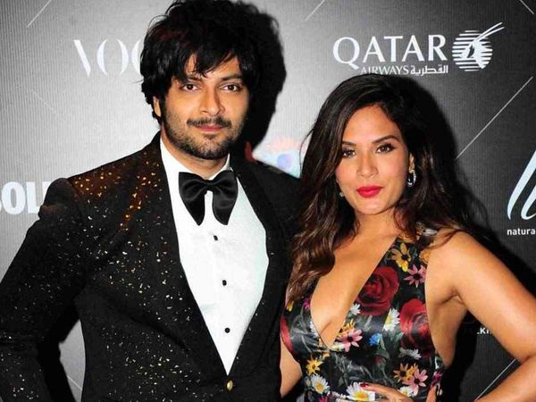 richa chadha and ali fazal pic