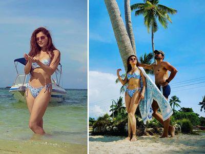 Rubina dilaik hot bikini pictures Holidaying With husband Abhinav shukla in  philippines, Rubina dilaik: भरी सर्दी में बिकिनी पहन घूम रहीं टीवी एक्ट्रेस रुबीना  दिलाइक, हॉट लुक से लगाई आग   TV