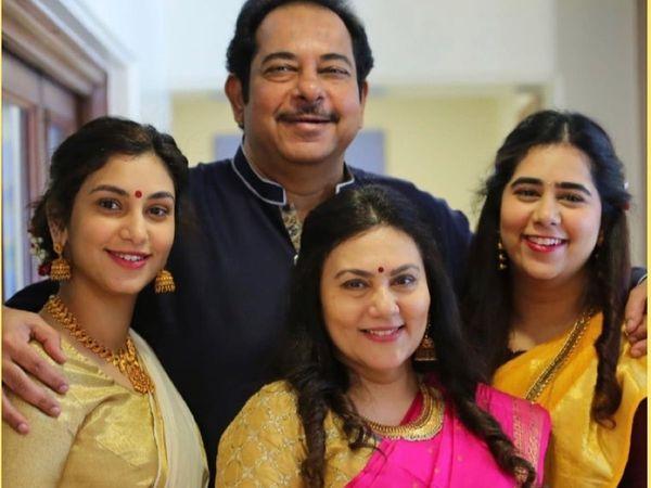 Ramayan Sita Deepika Chikhalia husband and daughters New Family Photos,  दीपिका चिखलिया ने बताया क्या होता है फैमिली लव | TV