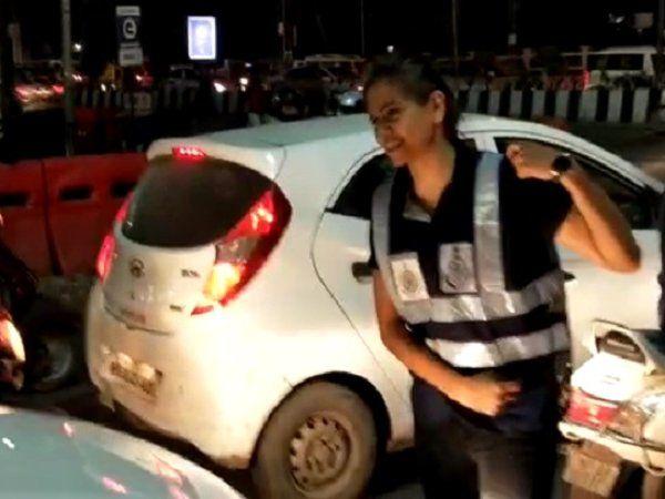 traffic volunteer indore