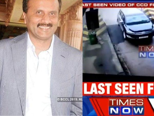 VG Siddhartha's car last seen in CCTV footage