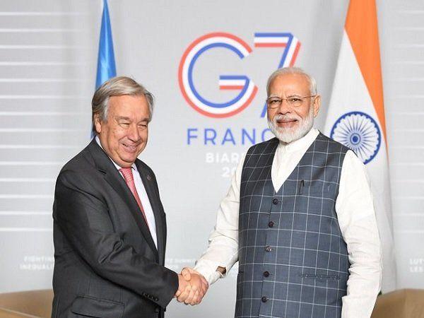 PM Narendra Modi in France for G7 summit