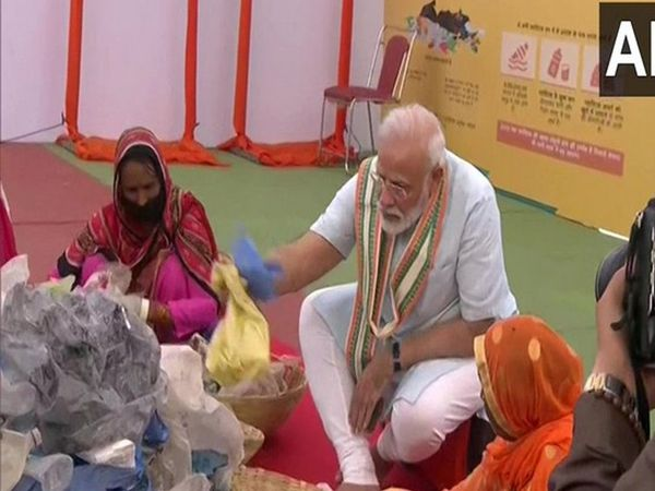 PM Modi appeals people to say no to single use plastic in Mathura