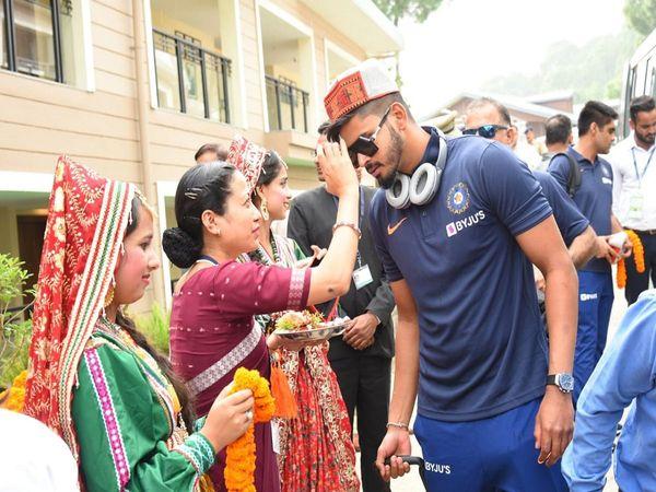 Indian Cricket team Dharmshala
