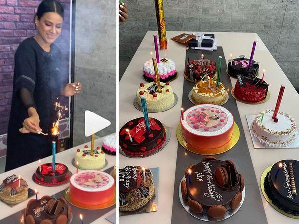 Nia Sharma pre birthday Celebration Jamai Raja Actress check pictures